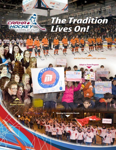 The Tradition Lives On! - CARHA Hockey