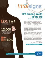 HIV Among Youth in the US - Centers for Disease Control and ...