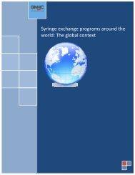 Syringe exchange programs around the world: The global ... - GMHC