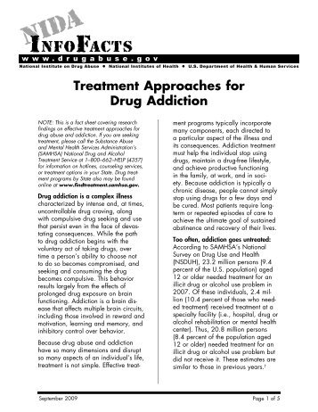 Treatment Approaches for Drug Addiction - National Institute on ...