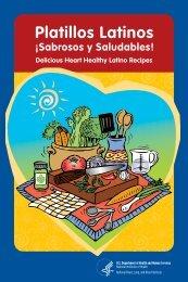 Platillos Latinos Sabrosos y Saludables! - National Heart, Lung, and ...