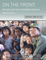 On the Front: HIV/AIDS and the Uniformed Services