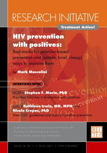 hIv prevention with positives: - CD8 T cells