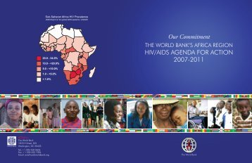 The World Bank's Africa Region HIV/AIDS Agenda for Action