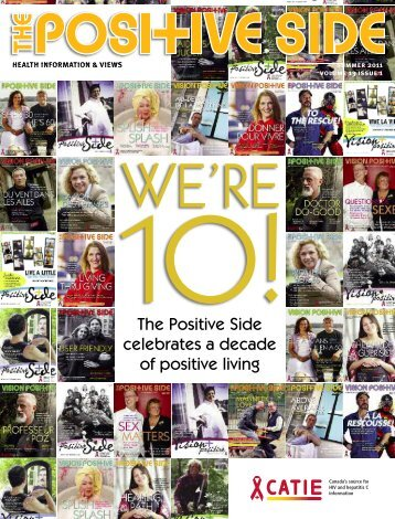 The Positive Side, Summer 2011 - CD8 T cells - The Body