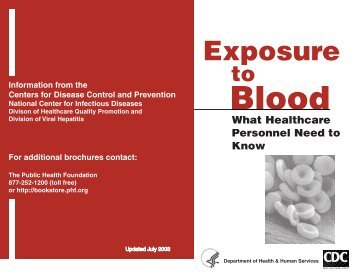 Exposure to Blood - National HIV/AIDS Clinicians' Consultation Center