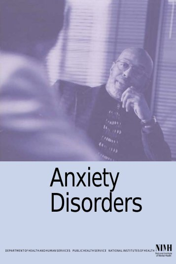 Anxiety Disorders - CD8 T cells