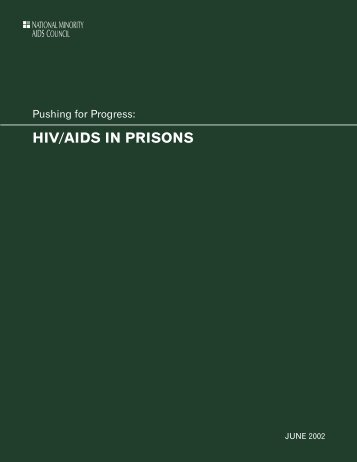 Pushing for Progress: HIV/AIDS in Prisons - CD8 T cells