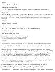 TD 6/ 86 Decision rendered October 14, 1986 TRANSLATION ...
