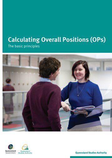 Calculating OPs: The basic principles - Queensland Studies Authority