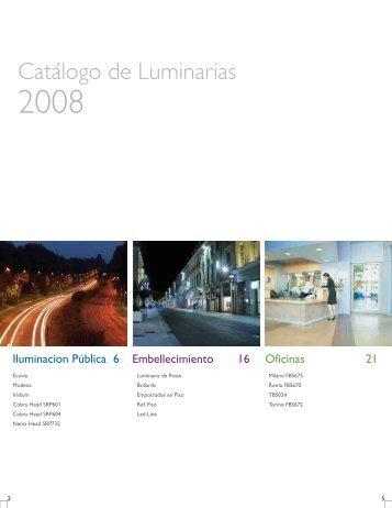 Catalogo de Soluciones 2008.pdf - Arch Lighting Design ...