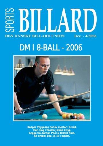 DM I 8-BALL - 2006 - Den Danske Billard Union