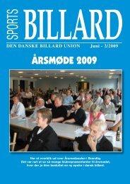 ÅRSMØDE 2009 - Den Danske Billard Union