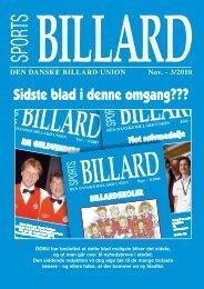 Sidste blad i denne omgang??? - Den Danske Billard Union