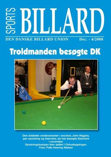 Troldmanden besøgte DK - Den Danske Billard Union