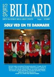 DEN DANSKE BILLARD UNION Sept.