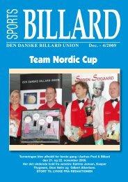 Team Nordic Cup - Den Danske Billard Union
