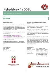 Nyhedsbrev 9 - Den Danske Billard Union