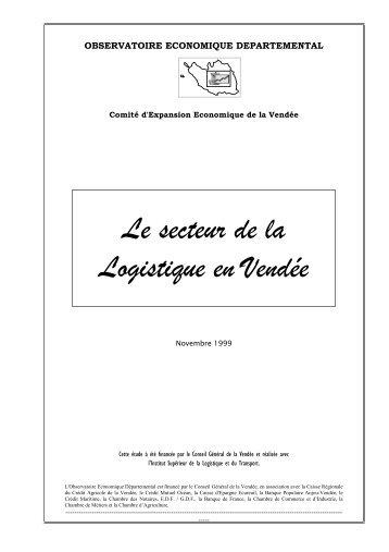 Le secteur de la Logistique en Vendée - Jeanne c'est nous