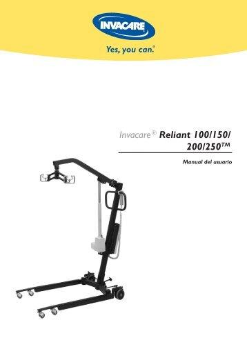 Invacare®Reliant 100/150/ 200/250TM