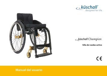 Manual del usuario - Invacare