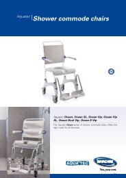 Aquatec® Shower commode chairs - Invacare