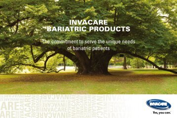 INVACARE BARIATRIC PRODUCTS