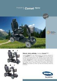Invacare® Comet ™ Alpine