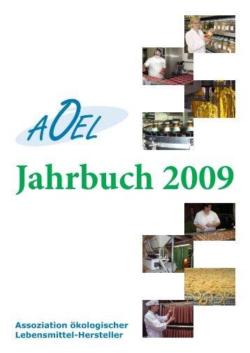 AoeL Jahrbuch 2009 - Assoziation ökologischer Lebensmittel ...