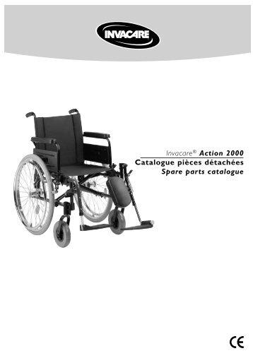 Invacare® Action 2000 Catalogue pièces détachées Spare parts ...