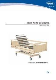 Spare Parts Catalogue - Invacare