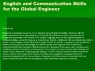 English and Communication Skills for the Global Engineer