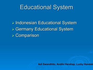 Presentation Education Systems