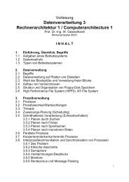 Vorlesungsskript - Technische Informatik