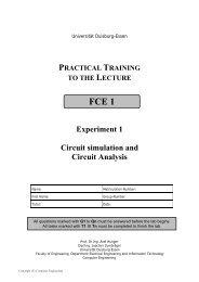Lab 2: Circuit simulation and analysis