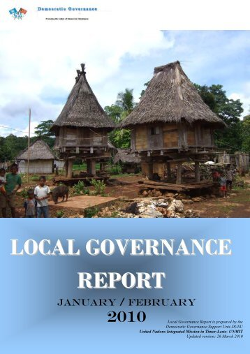 LOCAL GOVERNANCE REPORT - Unmit