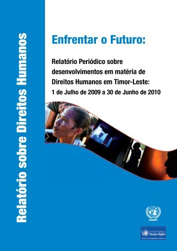 Relatório sobre Direitos Humanos - Unmit