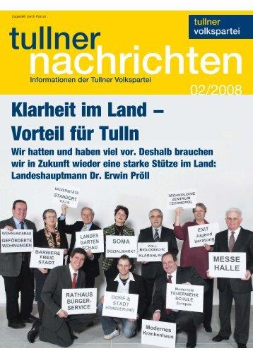 Ausgabe Februar 2008 - Bürgermeister Peter Eisenschenk