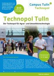 Campus Tulln - Bürgermeister Peter Eisenschenk