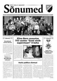 Sõnumed nr 1 - jaanuar 2013 - Tapa vald