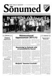 Sõnumed nr 6 - juuni 2012 - Tapa vald