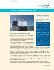 Kettle Foods Solar Installation - Energy Trust of Oregon