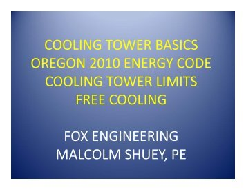 Download Presentation Part 1 - Energy Trust of Oregon