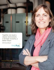 Download a copy of Energy Trust's 2011 Annual Report
