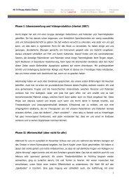 Phase II - Stiftung Maria Ebene