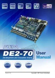 DE2-70 Manual - Computation Structures Group