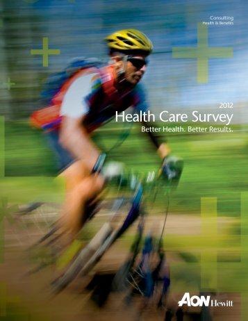 2012 Health Care Survey - Aon
