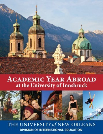 Academic Year Abroad - Division of International Education ...