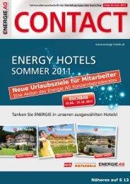 Neue Urlaubsziele für Mitarbeiter - ÖAAB Betriebsgruppe Energie AG