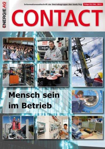 Mensch sein im Betrieb - ÖAAB Betriebsgruppe Energie AG